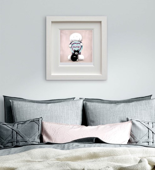 Super Cutie by Doug Hyde - Limited Edition on Paper wall setting