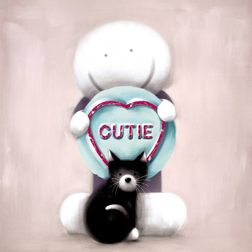 Super Cutie by Doug Hyde - Limited Edition on Paper